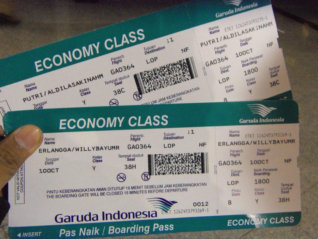 Tips Mengecek Tiket Pesawat yang Sudah Dipesan
